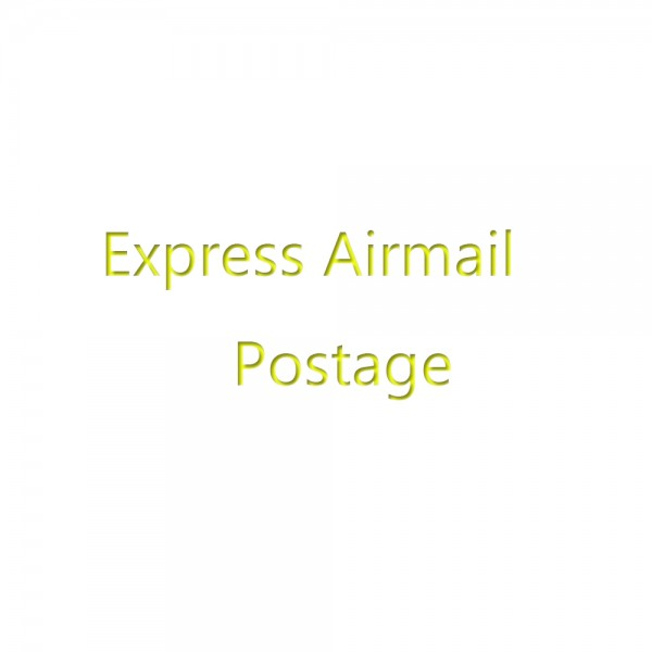 Add more postage for express airmail