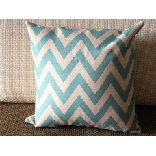 "10 colors Linen Pillow - Blue white stripes geometrical Pillow Cover -blue Pillow - 18"" 22"" Decorative Cushion Cover Throw Pillow cover 88"