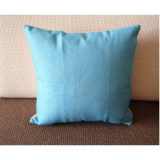"5 colors Designer Linen Pillow - light blue Pure plain Pillow Cover 18"" 45 cm /22"" 55 cm Decorative Cushion Cover Throw Pillow cover 149"