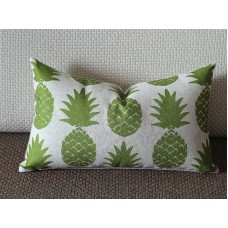 11 colors Pillow Covers, green pineapple lumbar pillow cover, Decorative throw pillows, Throw pillows, Outdoor pillows, Couch pillow 262