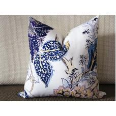 Designer canvas Pillow - Indian Arbre pillow cover in Hyacinth Pillow Cover - Blue Pillow - Throw Pillow - Pillow 310