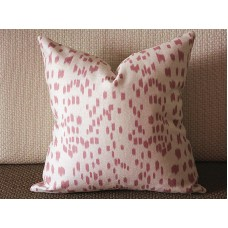 Touches Pink Decorative Throw Pillow,Pillow Cover. Pink Lumbar Pillow 335