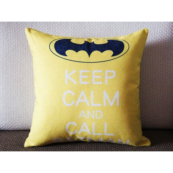 Keep calm and call batman pillow,Batman pillow cover-18x18,20x20,22x22 355