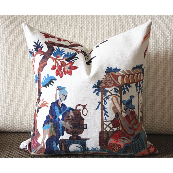 "Designer Pillow - Decorative Pillow Cover - ""Maison Hamot, Paris"" Pillow 361"