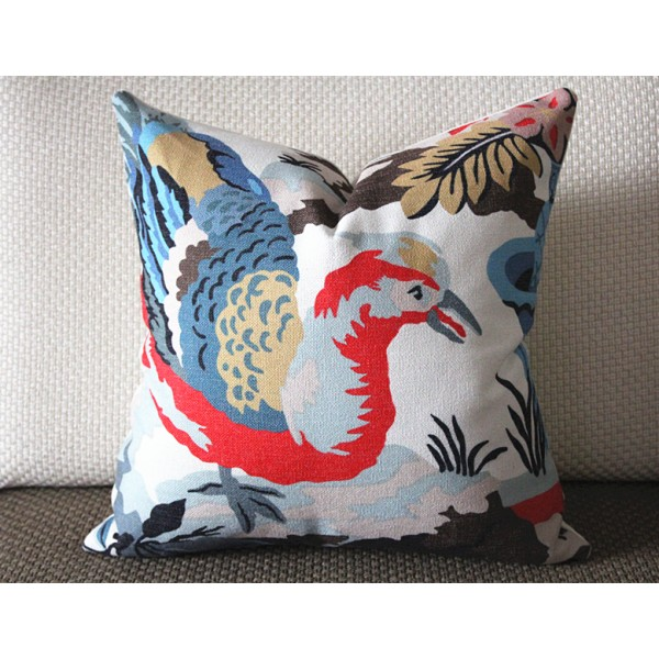 "Designer Pillow - Decorative Pillow Cover - ""Maison Hamot, Paris"" Pillow 362"