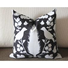 10 colors hot pink blue Pillow, Bird Pillow, Decorative Throw Pillow Cover Invisible Zipper Closure, Toss Pillow, Accent Pillow 387