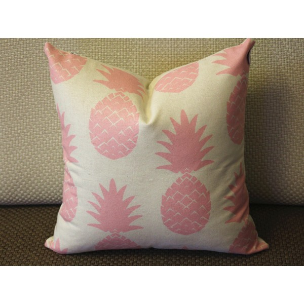 11 Color Pillow Covers, Pink Pineapple Pillow Cover,Decorative Throw Pillows,  Throw Pillows, Outdoor Pillows, Pillow Cases, Couch Pillow 391