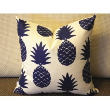 10 colors to choose Pillow Covers, navy blue pineapple pillow cover, Decorative throw pillows, Throw pillows, Pillow cases, Couch pillow 392