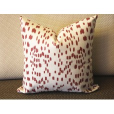 Les Touches dark red Decorative Throw Pillow,Pillow Cover. brown Lumbar Pillow 393