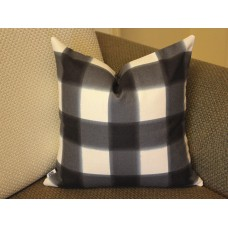 black Pillows,Pillows, black pillow cover, Pillow, Buffalo Check Pillow, Navy Throw Pillows, High End Geometric Pillows, Pillow Covers 396