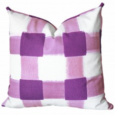Pillows,violet pillow, violet Plaid Pillow, Buffalo Check Pillow, Throw Pillows, High End Geometric Pillows, Pillow Covers 427