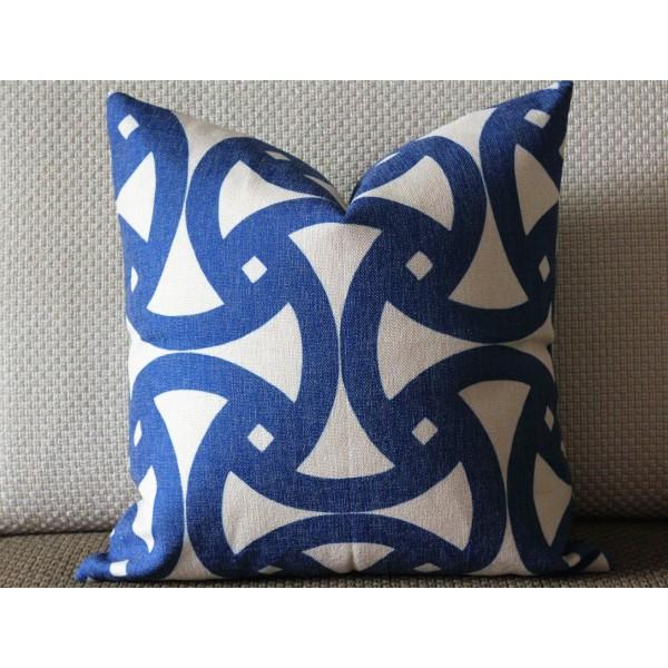 Green/Blue/Orange/Brown/Gray Chevron Pillow Cover, Blue Pillow Cover, 16x16, 18x18, 20x20 Pillow Cover 433