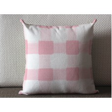 Pillows,pink pillow, Pink Pillow cover, Buffalo Check Pillow, Throw Pillows, High End Geometric Pillows, Pillow Covers 435