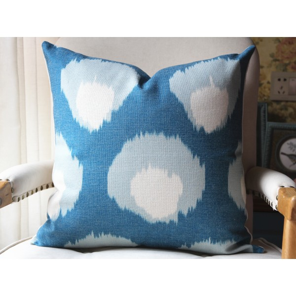 3 colors Pillow Cover in Blue, Decorative Throw Pillow, Accent Cushion Cover, Home Decor, Pillow Covers, 447