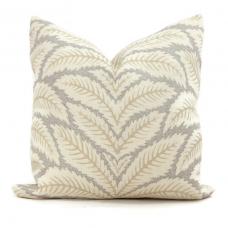 Birch Talavera Linen Pillow Cover by Brunschwig & Fils Decorative Pillow Cover 18x18, 20x20, 22x22 euro Lumbar pillow, Accent Pillow 450