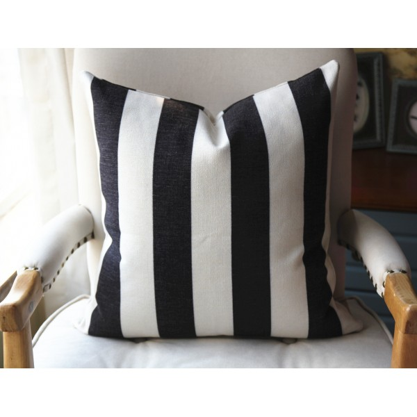 10 colors choose Decorative Pillows ANY SIZE Pillow Covers Pillow Cover - Black and off white Pillow - Designer Geometric Pillow Cover 453