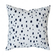 Navy Spotted Pillow Decorative Throw Pillow,Pillow Cover. Navy blue Lumbar Pillow 456