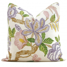 Timothy Corrigan Lavender Huntington Gardens Decorative Pillow Cover, Toss Pillow, Throw Pillow, Accent Pillow Schumacher Pillow Cover 474