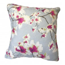Cottage Floral Fuchsia and Navy Pillow Decorative Pillow Cover, Toss Pillow, Throw Pillow, Accent Pillow bulgara floral vine Pillow Cover 483