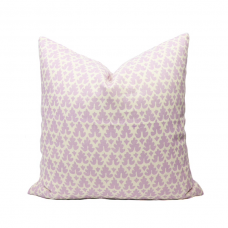 Quadrille Volpi pillow cover in solft Lavender on Tint 304040B-05 // Designer pillow // High end pillow // Decorative pillow , purple 485