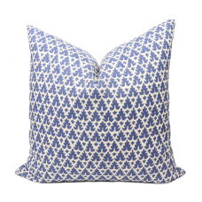 Quadrille Volpi pillow cover in solft Lavender on Tint 304040B-05 // Designer pillow // High end pillow // Decorative pillow , blue 485