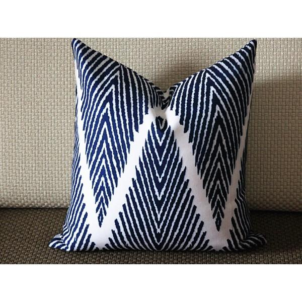 Pillow Covers Blue Modern