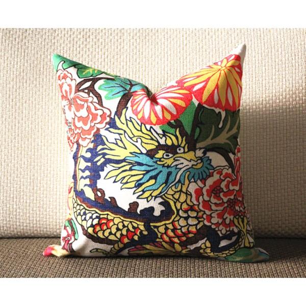 Decorative Pillow Accent Blue