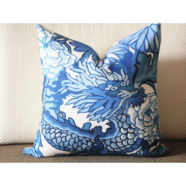decorative pillow accent pillow blue geometric light blue pillow White Throw Pillows for Couch