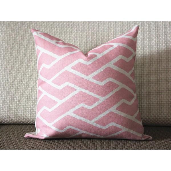 Decorative Pillow Designer Pillow Accent Pillow couch pillow pink
